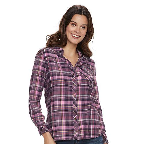 20af16fc Women's SONOMA Goods for Life™ Supersoft Essential Shirt