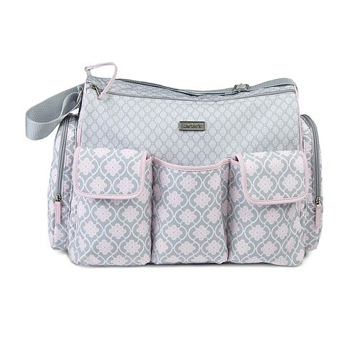 Carter's Hold It All Twin Medallion Duffel Diaper Bag