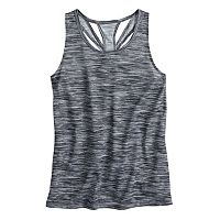 Girls 7-16 SO® Easy Back Cutout Performance Tank Top