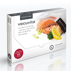 Vacuvita 2-quart Resealable Vacuum Bag 15-pack