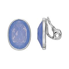Napier Oval Clip-On Earrings
