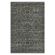 Maples Tapestry Framed Floral Rug