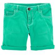 Girls 4-8 Carter's Woven Shorts