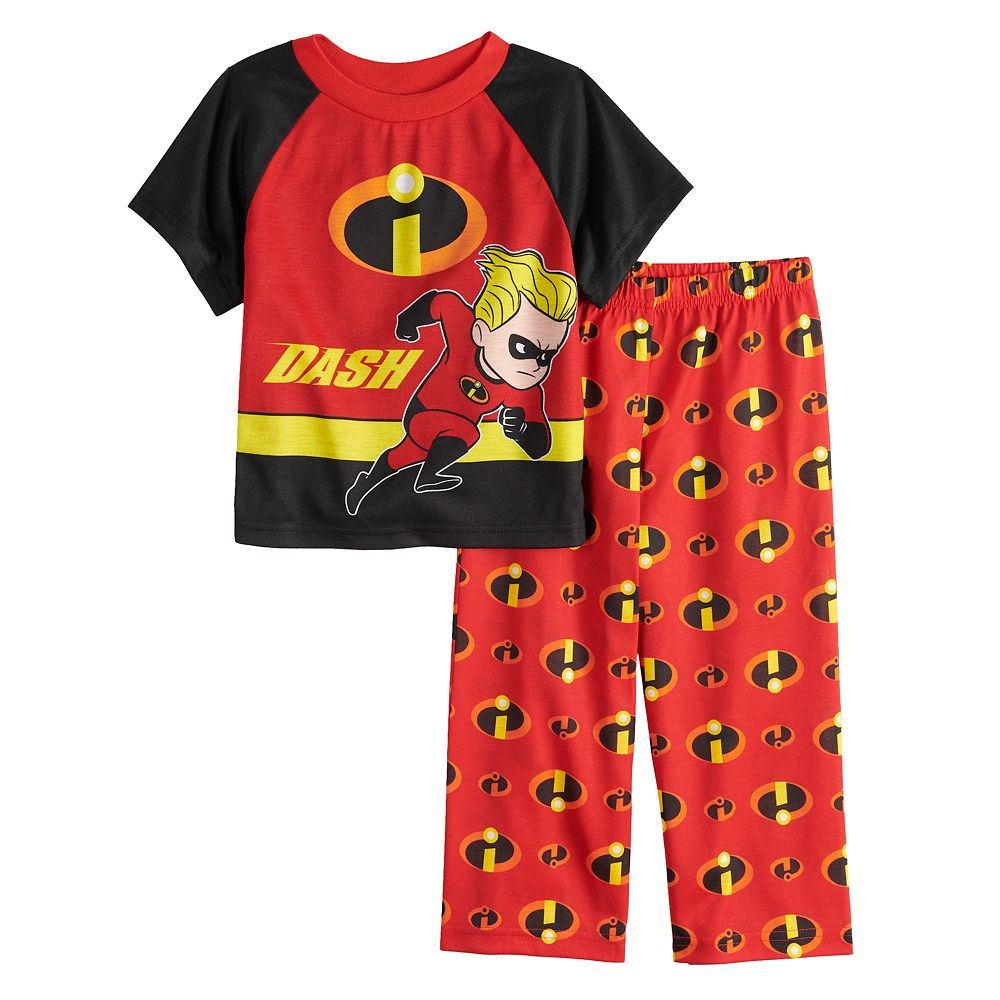 977abee8a6fe8 Disney / Pixar's The Incredibles Dash Toddler Boy Top & Bottoms ...