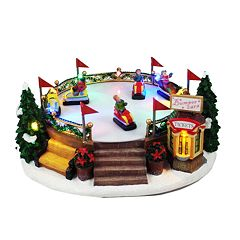 St. Nicholas Square® Village Bumper Cars with Lights and Motion