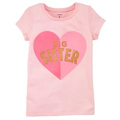 Girls 4-8 Carter's Printed Graphic Tee