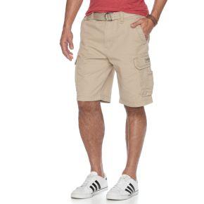 Big & Tall Unionbay Survivor Belted Cargo Shorts