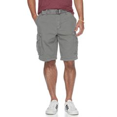 Big & Tall Unionbay Survivor Belted Cargo Shorts