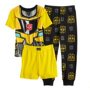 Boys 4-10 Transformers 3-Piece Pajamas Set