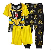 Boys 4-10 Transformers 3 pc Pajamas Set