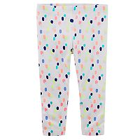 Girls 4-8 Carter's Patterned Leggings