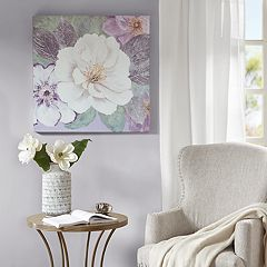 Madison Park Plum & Lavender Garden Canvas Wall Art