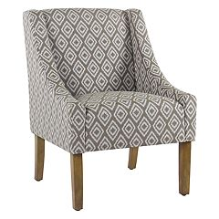 HomePop Modern Swoop Accent Chair