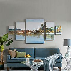 Madison Park My Retreat Canvas Wall Art 5-piece Set
