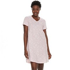 Women's Croft & Barrow® Printed Sleepshirt