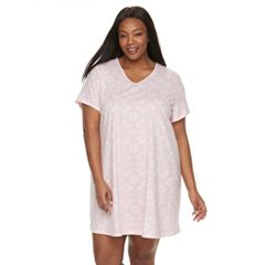 Plus Size Croft & Barrow® Printed Sleepshirt