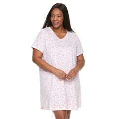 Plus Size Croft & Barrow® Printed Sleepshirt