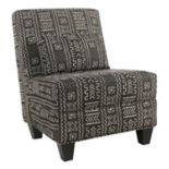 HomePop Large Slipper Accent Chair