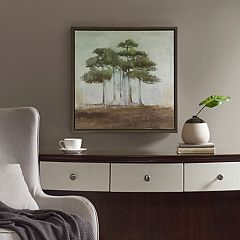 Madison Park Signature Bonsai Forest Framed Canvas Wall Art