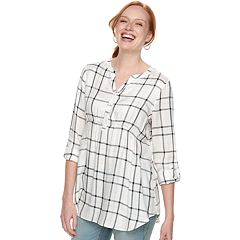 Maternity a:glow Pintuck Blouse