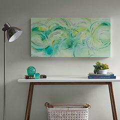 Urban Habitat In The Flow Canvas Wall Art