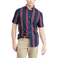Men's Chaps Classic-Fit Heritage Striped Woven Button-Down Shirt