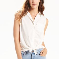 Women's Levi's® Coralie Button-Down Jean Shirt