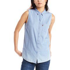 Women's Levi's® Coralie Button-Down Jean Shirt