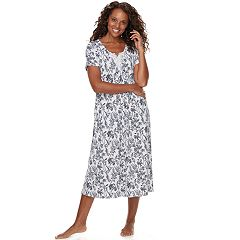 Women's Croft & Barrow® Lace Trim Nightgown