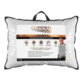 Copper Fit Replenish Sleep Knit Bed Pillow