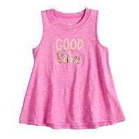 Toddler Girl Jumping Beans Embellished Swing Tank Top