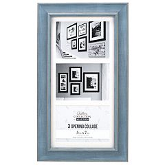 Malden Distressed Blue 3-Opening 5' x 7' Collage Frame