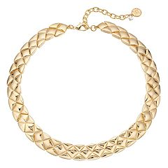 Dana Buchman Geometric Triangle Collar Necklace