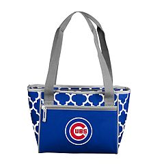 Logo Brand Chicago Cubs 16-Can Cooler Tote