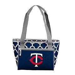 Logo Brand Minnesota Twins 16-Can Cooler Tote