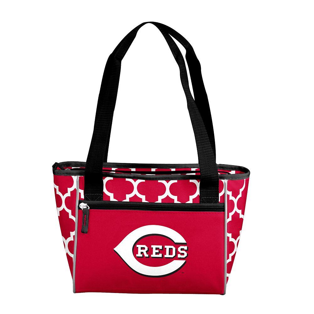 Logo Brand Cincinnati Reds 16-Can Cooler Tote