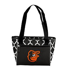 Logo Brand Baltimore Orioles 16-Can Cooler Tote