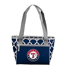 Logo Brand Texas Rangers 16-Can Cooler Tote