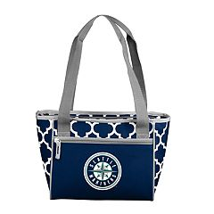Logo Brand Seattle Mariners 16-Can Cooler Tote