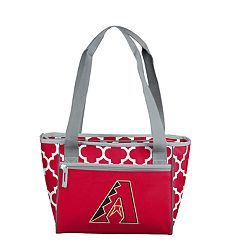 Logo Brand Arizona Diamondbacks 16-Can Cooler Tote