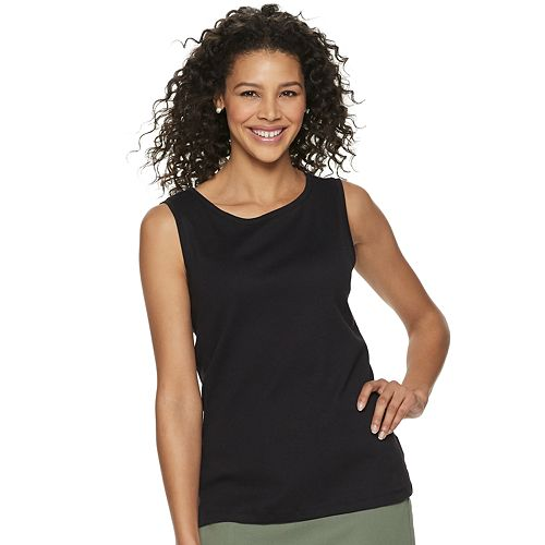 Women's Croft & Barrow® Classic Tank