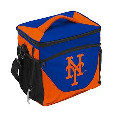 Logo Brand New York Mets 24-Can Cooler Tote