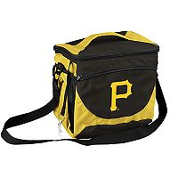 Logo Brand Pittsburgh Pirates 24-Can Cooler Tote