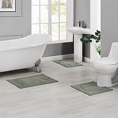 Madison Serene 3-piece Bath Rug Set