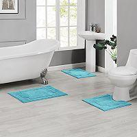 Madison Serene 3 pc Bath Rug Set