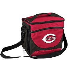 Logo Brand Cincinnati Reds 24-Can Cooler Tote