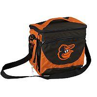 Logo Brand Baltimore Orioles 24-Can Cooler Tote