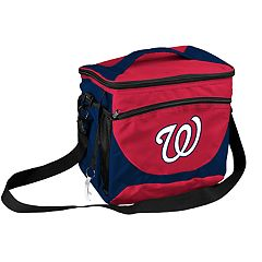 Logo Brand Washington Nationals 24-Can Cooler Tote