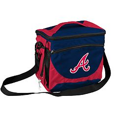 Logo Brand Atlanta Braves 24-Can Cooler Tote