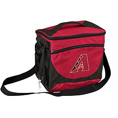 Logo Brand Arizona Diamondbacks 24-Can Cooler Tote
